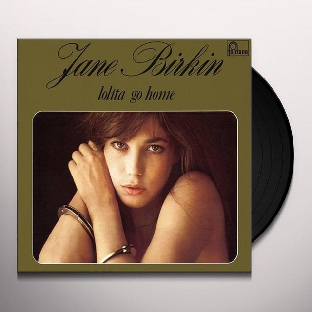 Jane Birkin LOLITA GO HOME: LIMITED Vinyl Record