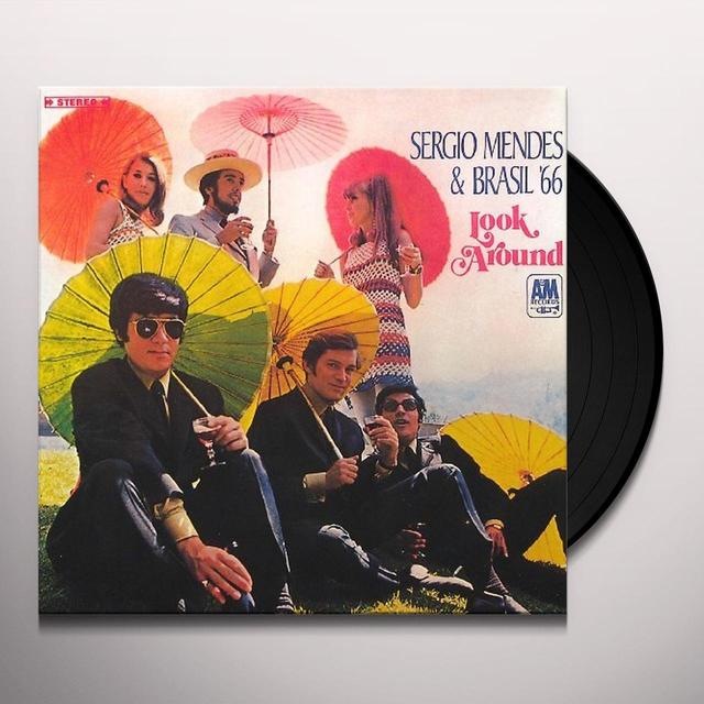 Sérgio Mendes LOOK AROUND (& BRASIL 66): LIMITED Vinyl Record - Limited Edition, Japan Import