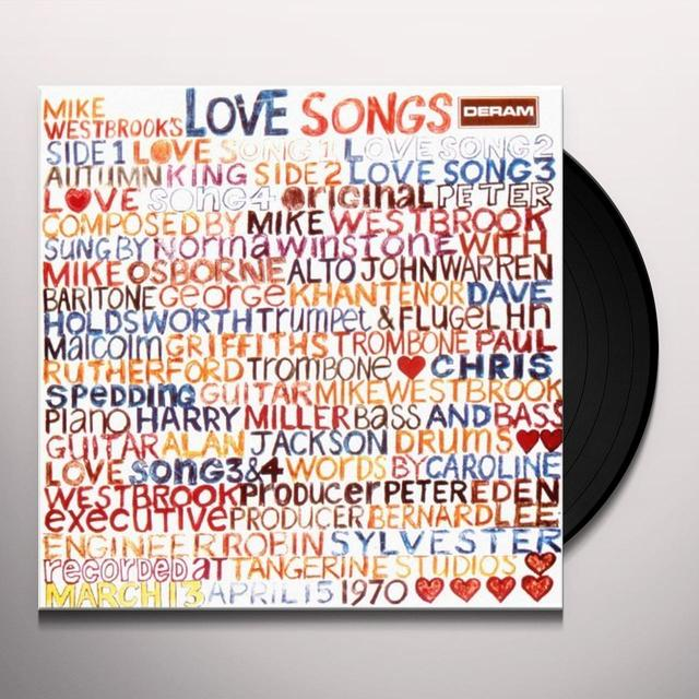 Mike Westbrook Concert Band MIKE WESTBROOK`S LOVE SONG: LIMITED Vinyl Record - Limited Edition, Japan Import