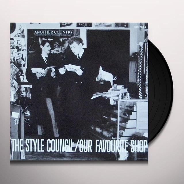 Style Council OUR FAVOURITE SHOP: LIMITED Vinyl Record - Limited Edition, Japan Import