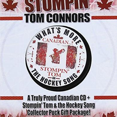 Stompin' Tom Connors TRULY PROUD CANADIAN (CD+HOCKEY PUCK) Vinyl Record - Canada Release