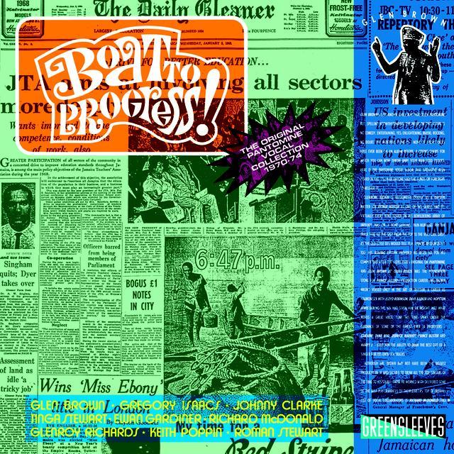 Glen Brown BOAT TO PROGRESS Vinyl Record - UK Import