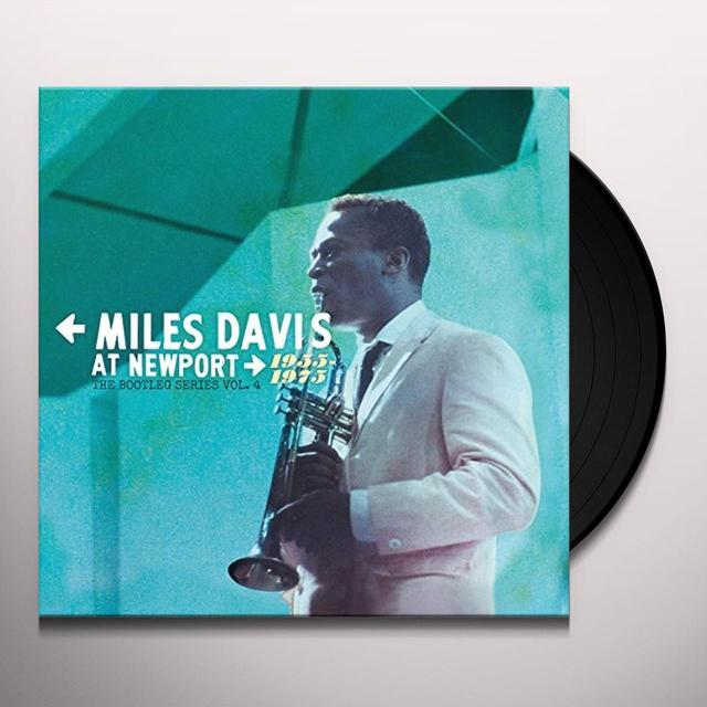 Miles Davis BOOTLEG SERIES 4: NEWPORT Vinyl Record - Canada Release