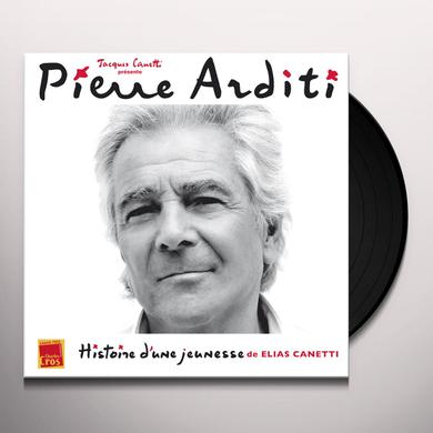 Pierre Arditi DIT HISTOIRE D'UNE JEUNESSE DE ELIAS CANETTI Vinyl Record - Canada Release