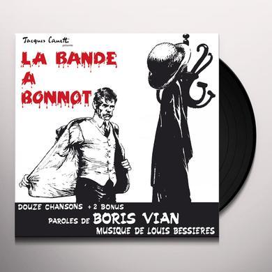 Boris Vian LA BANDE A BONNOT Vinyl Record - Canada Release