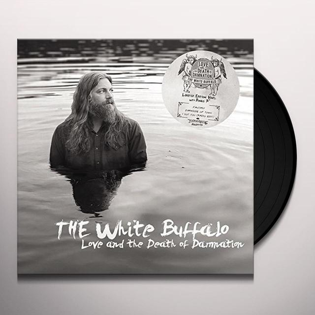 White Buffalo LOVE & THE DEATH OF DAMNATION Vinyl Record - UK Import