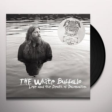 White Buffalo LOVE & THE DEATH OF DAMNATION Vinyl Record - UK Import
