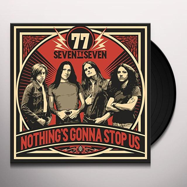 77 NOTHING'S GONNA STOP US Vinyl Record - UK Import