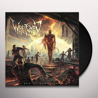 Wretched SON OF PERDITION Vinyl Record - Canada Release
