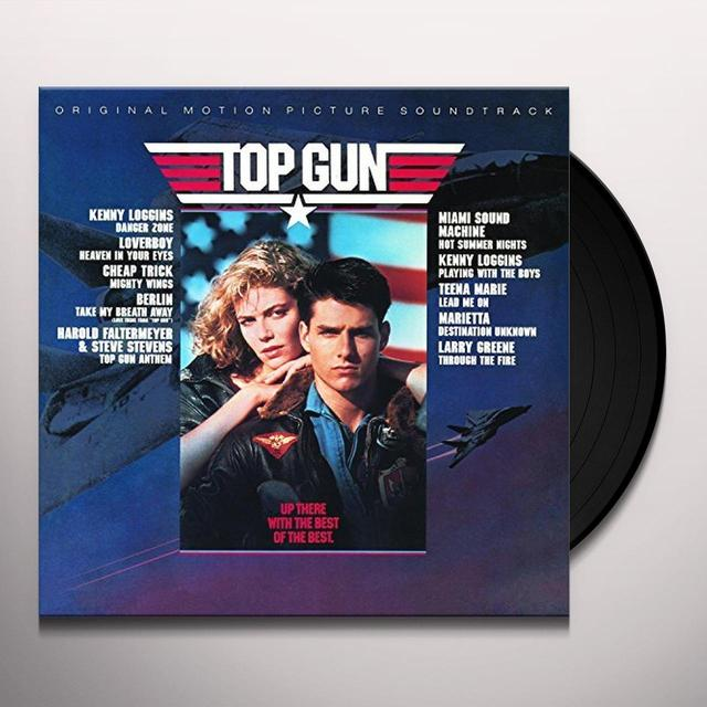 TOP GUN / O.S.T. (CAN) TOP GUN / O.S.T. Vinyl Record - Canada Release