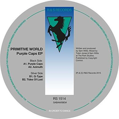 Primitive World PURPLE CAPS EP Vinyl Record - UK Release
