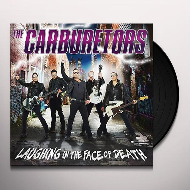 CARBURETORS LAUGHING IN THE FACE OF DEATH (LP+CD) Vinyl Record - w/CD, UK Import