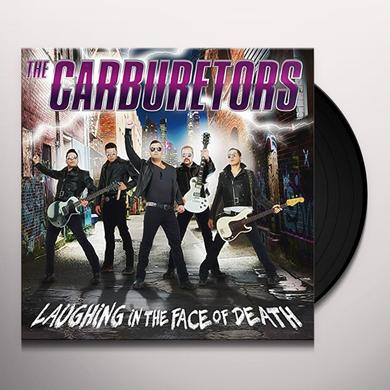 CARBURETORS LAUGHING IN THE FACE OF DEATH (LP+CD) Vinyl Record - w/CD, UK Import