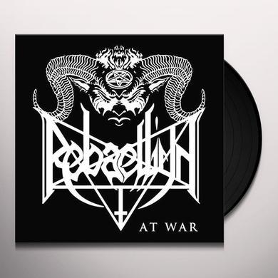 REBAELLIUN AT WAR Vinyl Record - UK Import