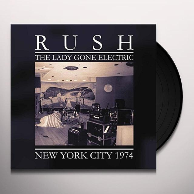 Rush LADY GONE ELECTRIC Vinyl Record - UK Release