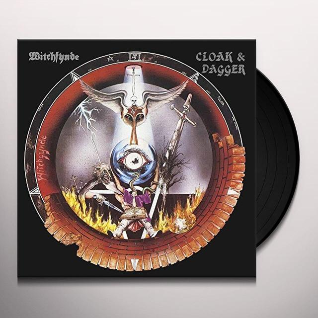Witchfynde CLOAK & DAGGER Vinyl Record - UK Release