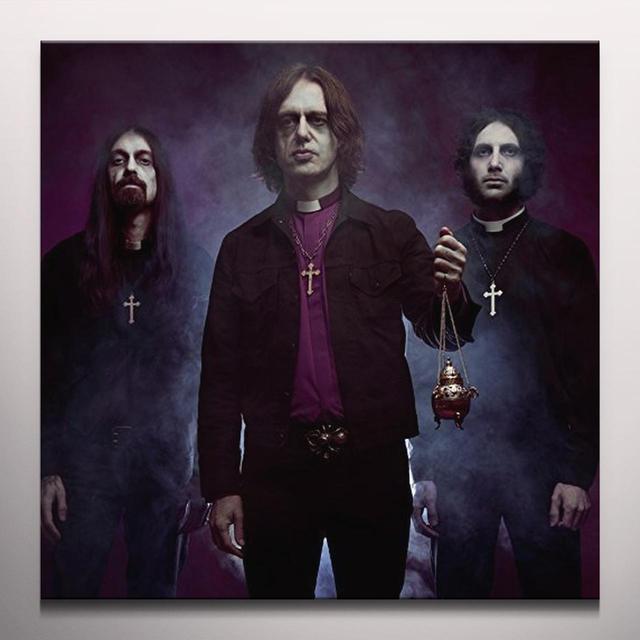 WITH THE DEAD (PURPLE VINYL) Vinyl Record - Colored Vinyl, UK Import