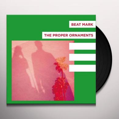 BEAT MARK / PROPER ORNAMENTS FLOWERS / TWO WEEKS Vinyl Record - UK Import