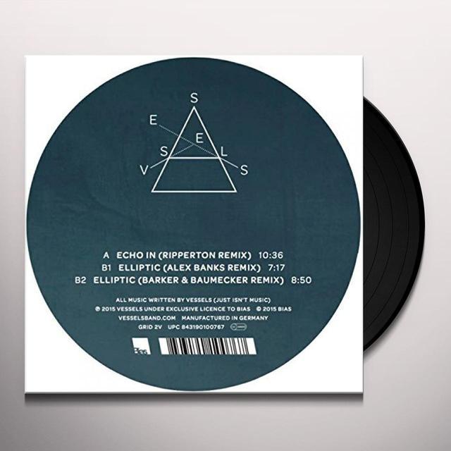 Vessels DILATE REMIXES Vinyl Record - UK Import