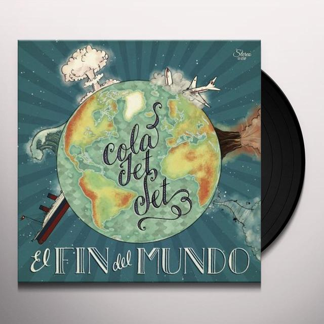 Cola Jet Set EL FIN DEL MUNDO Vinyl Record - Limited Edition, Digital Download Included