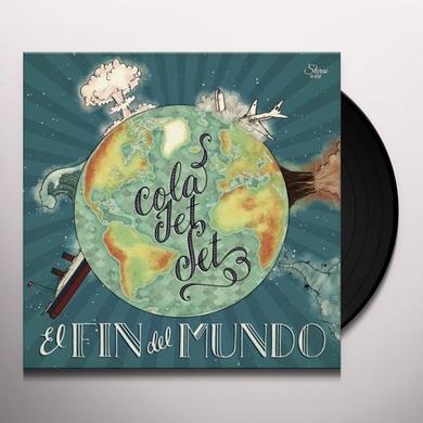 Cola Jet Set EL FIN DEL MUNDO Vinyl Record - Limited Edition, Digital Download Included