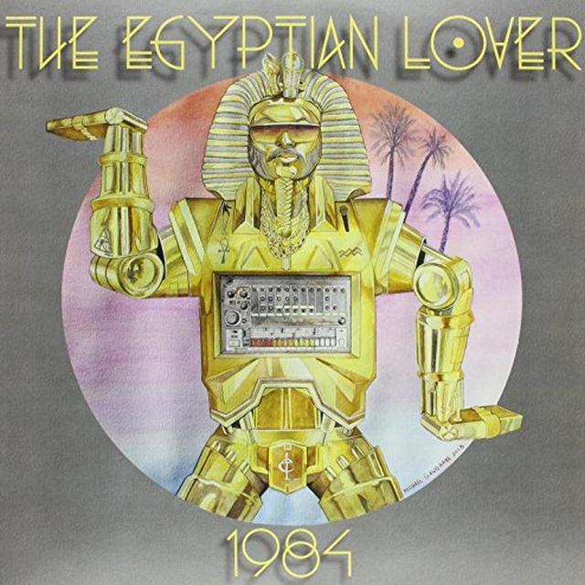 Egyptian Lover 1984 Vinyl Record