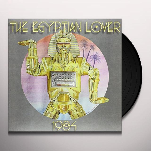 Egyptian Lover 1984 Vinyl Record - Gatefold Sleeve