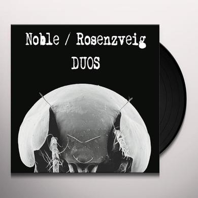 NOBLE / ROSENZVEIG DUOS Vinyl Record - 10 Inch Single