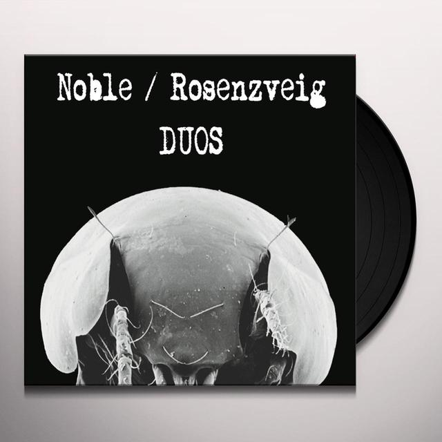 NOBLE / ROSENZVEIG DUOS Vinyl Record - 10 Inch Single