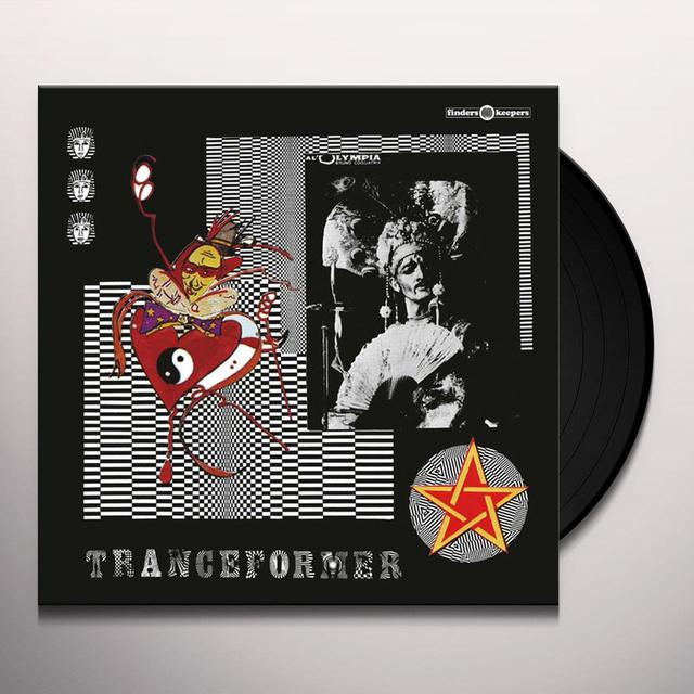 KROZIER & THE GENERATOR TRANCEFORMER Vinyl Record
