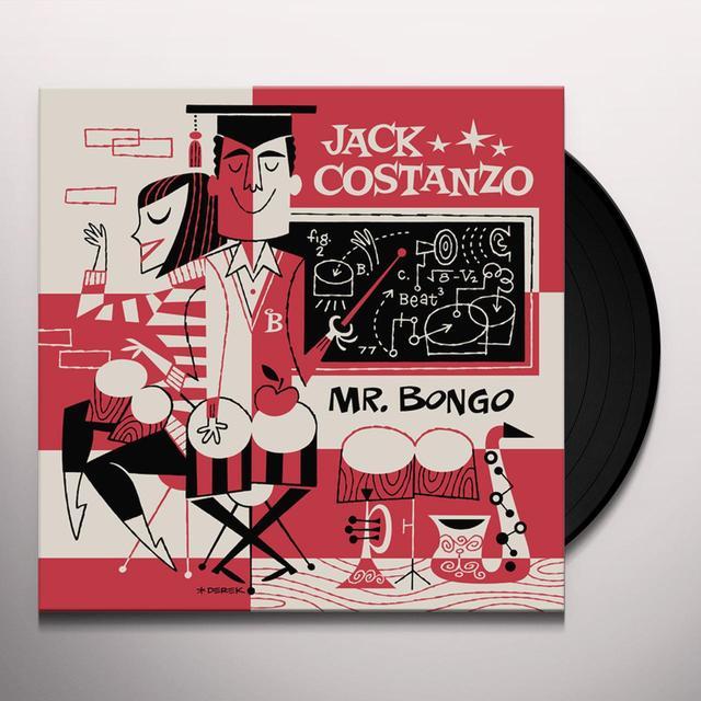 Jack Costanzo MR. BONGO Vinyl Record