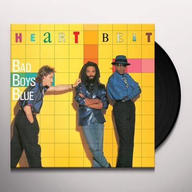 Bad Boys Blue HEART BEAT Vinyl Record