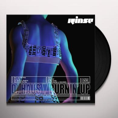 DJ Haus BURNIN' UP Vinyl Record