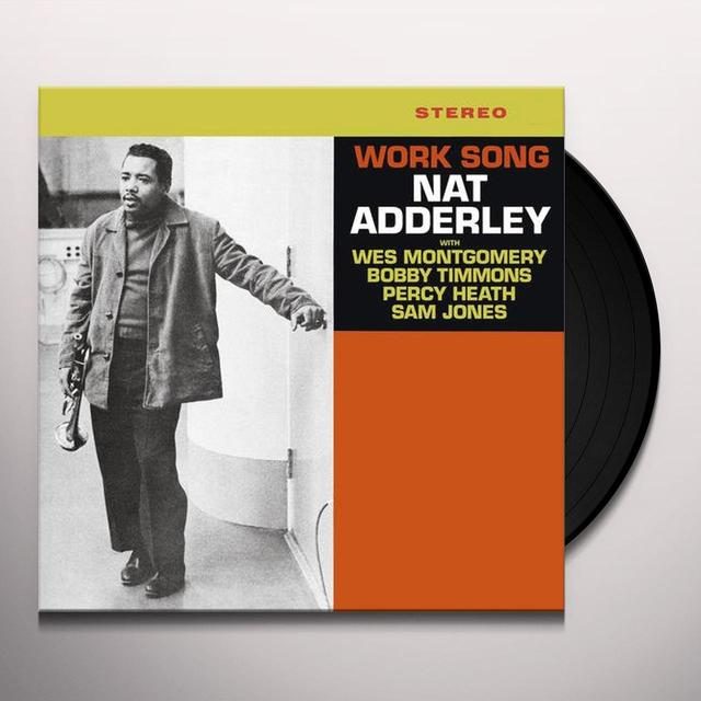 Nat Adderley WORK SONG Vinyl Record