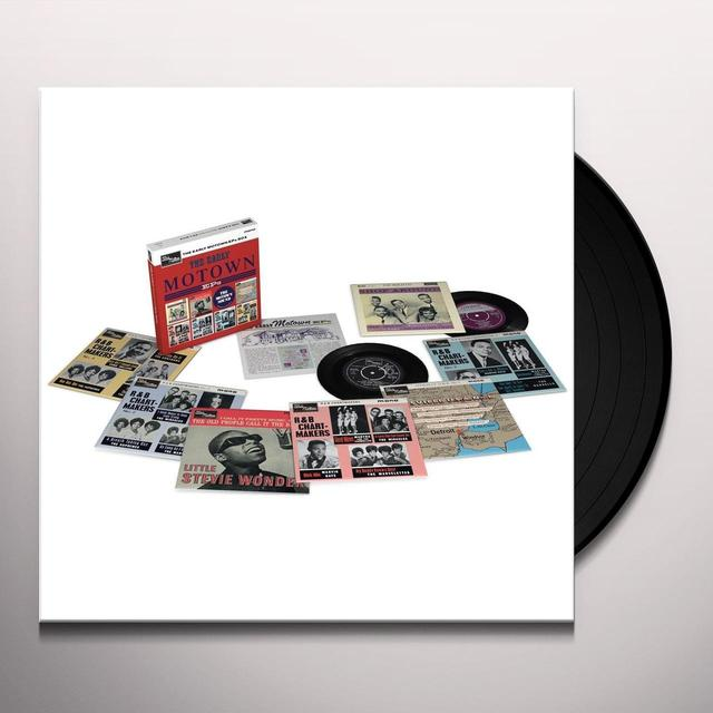 "EARLY MOTOWN EPS / VARIOUS (BOX) EARLY MOTOWN 7"" EPS / VARIOUS (BOX) Vinyl Record"