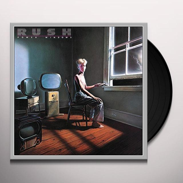 Rush POWER WINDOWS Vinyl Record