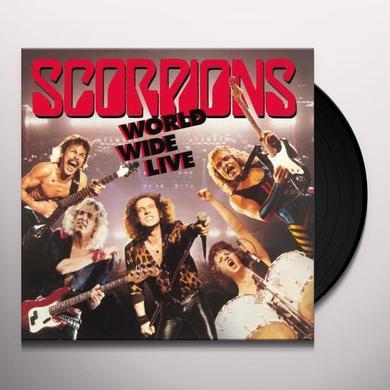 Scorpions WORLD WIDE LIVE Vinyl Record