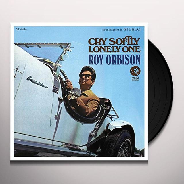 Roy Orbison CRY SOFTLY LONELY ONE Vinyl Record