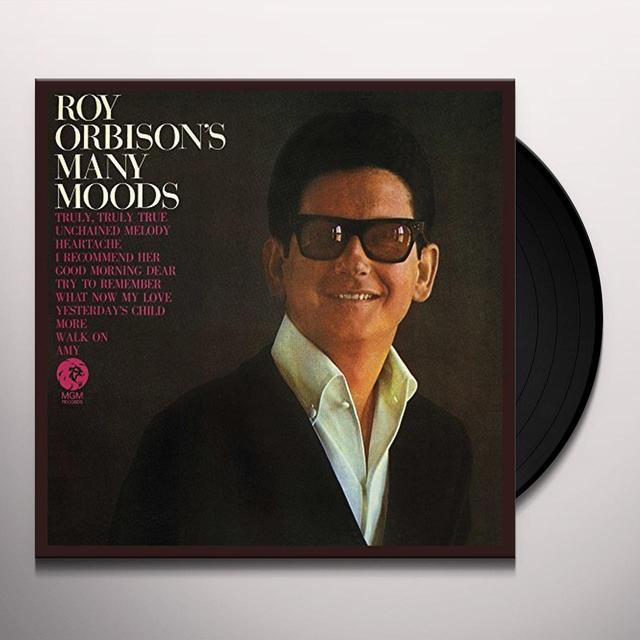 ROY ORBISON'S MANY MOODS Vinyl Record