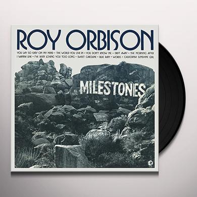 Roy Orbison MILESTONES Vinyl Record