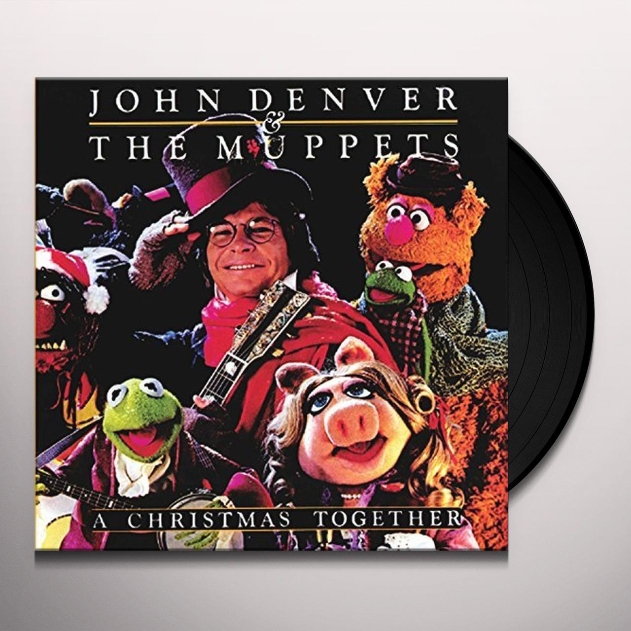 John Denver & The Muppets CHRISTMAS TOGETHER Vinyl Record