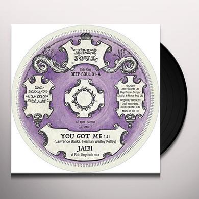 JAIBI - HESITATIONS YOU GOT ME - GOTTA FIND A WAY Vinyl Record