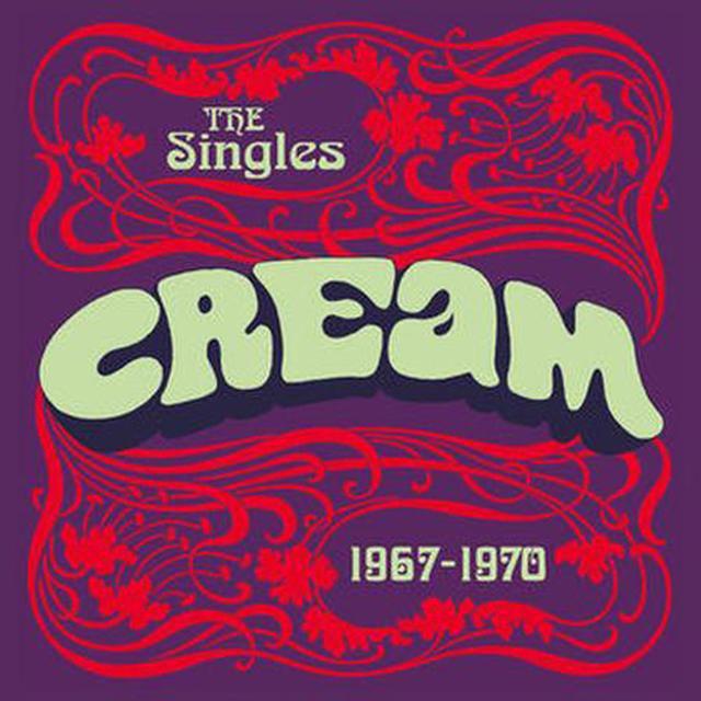 "Cream 7"" SINGLES BOX SET Vinyl Record"