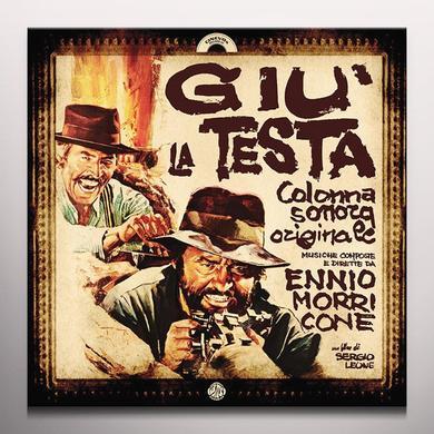 MORRICONE,ENNIO (COLV) (LTD) (OGV) GIU' LA TESTA / O.S.T. Vinyl Record - Colored Vinyl, Limited Edition, 180 Gram Pressing