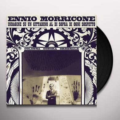 Ennio Morricone INDAGINE DI UN CITTADINO AL DI SOPRA DI OGNI SOSPE Vinyl Record