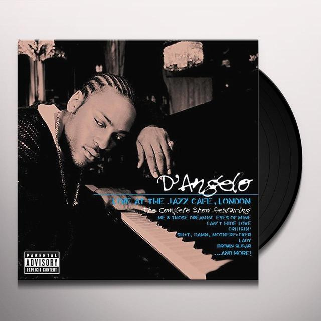 D'Angelo LIVE AT THE JAZZ CAFE LONDON: THE COMPLETE SHOW Vinyl Record