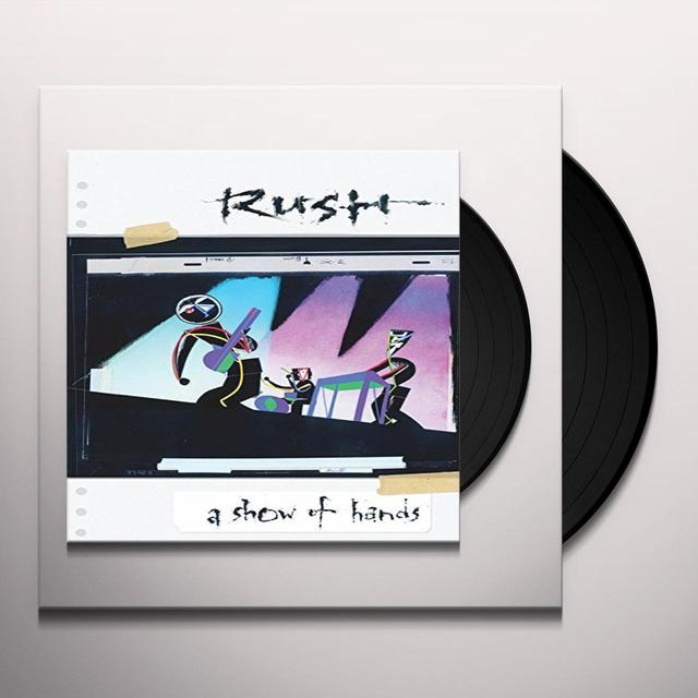 Rush SHOW OF HANDS Vinyl Record