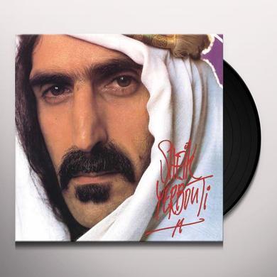 Frank Zappa SHEIK YERBOUTI Vinyl Record
