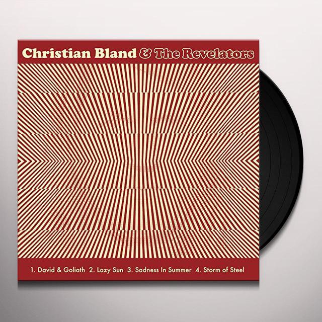 Christian Bland & Revelators / Chris Catalena SPLIT Vinyl Record