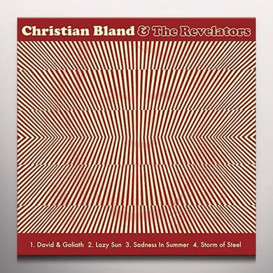 Christian Bland & Revelators / Chris Catalena SPLIT Vinyl Record - 10 Inch Single, Colored Vinyl
